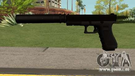 GLOCK-17 Black für GTA San Andreas