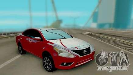 Nissan Versa Sedan 2015 pour GTA San Andreas