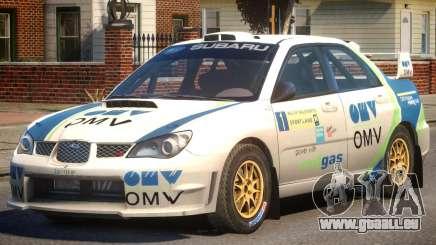 Subaru Impreza WRX STi PJ3 für GTA 4