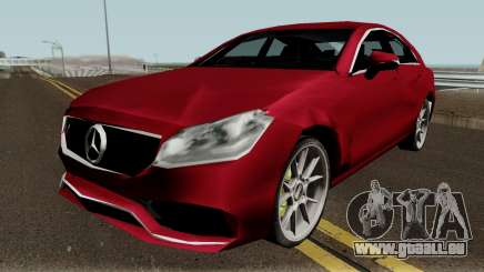 Mercedes-Benz CLS63 SA Style (Low-poly) für GTA San Andreas