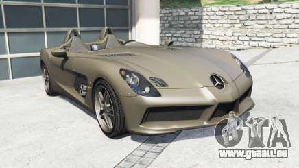 Mercedes-Benz SLR McLaren (Z199) 2009 [replace] für GTA 5