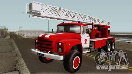 ZIL-133 TN Feu échelle de camion pour GTA San Andreas