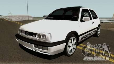 Volkswagen Golf 3 ABT VR6 Turbo Syncro pour GTA San Andreas