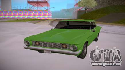 Plymouth Savoy 1962 SA StyledLow Poly pour GTA San Andreas