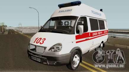 GAZ-3221 services d'Ambulance pour GTA San Andreas