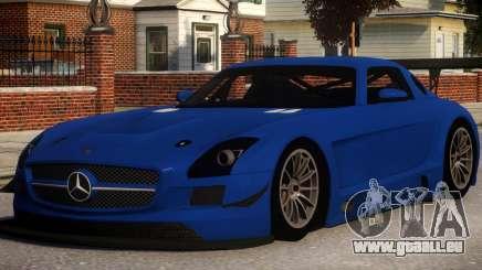 Mercedes-Benz SLS AMG V1.3 pour GTA 4