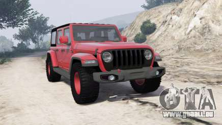 Jeep Wrangler Unlimited Rubicon 2018 [add-on] pour GTA 5