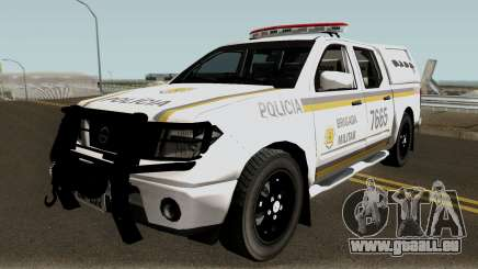 Nissan Frontier Brazilian Police pour GTA San Andreas