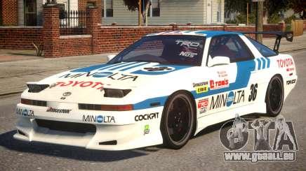 1992 Toyota Supra Tuner Version pour GTA 4