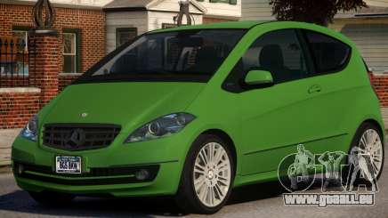 Mercedes Benz A 200 Turbo V1.3 pour GTA 4