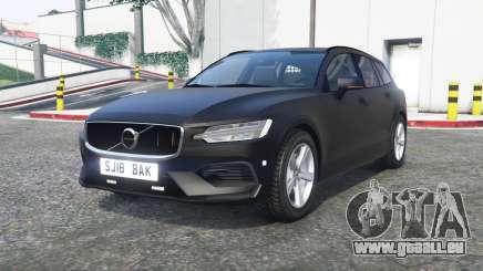 Volvo V60 2018 Unmarked Police [ELS] [replace] für GTA 5