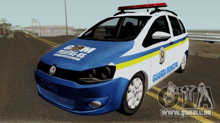 Volkswagen Spacefox Guarda Municipal für GTA San Andreas