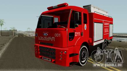 Ford Cargo Geo Firetruck pour GTA San Andreas