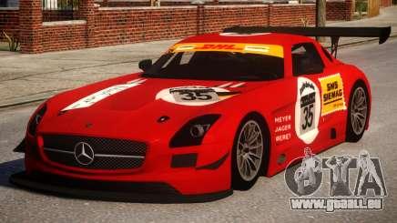 Mercedes-Benz SLS AMG PJ2 für GTA 4
