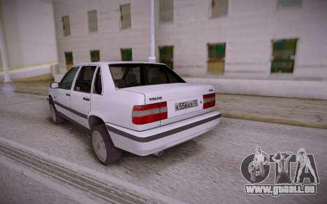 Volvo 850 für GTA San Andreas zurück linke Ansicht