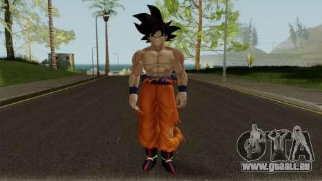 DBXV2 Goku and MUI pour GTA San Andreas