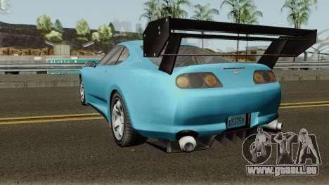 Dinka Jester Classic or F&F GTA V pour GTA San Andreas