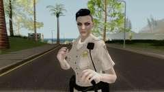 GTA Online Random Skin 5: Sahp Female Officer pour GTA San Andreas