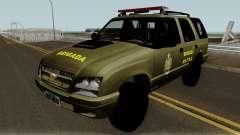 Chevrolet Blazer Brasilian Police pour GTA San Andreas