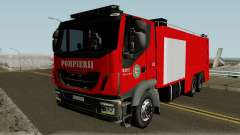 Iveco Trakker Pompieri - Romanian Firetruck für GTA San Andreas