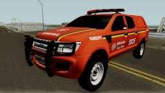 Ford Ranger Brazilian Police pour GTA San Andreas