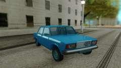 2107 berline Bleu pour GTA San Andreas