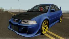 Mitsubishi Evolution VI Edited pour GTA San Andreas