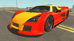 Gumpert Apollo 2M-Designs für GTA San Andreas