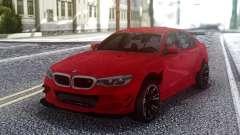 BMW M5 F90 Red Sedan pour GTA San Andreas