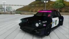 BMW E30 Police pour GTA San Andreas