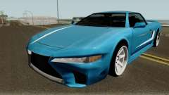 BlueRay Infernus LS500-F für GTA San Andreas