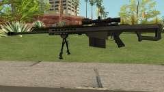 New Sniper Rifle Black für GTA San Andreas