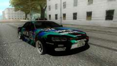 Nissan Skyline ER 34 pour GTA San Andreas