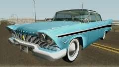 Plymouth Belvedere Sedan (Christine Style) 1957 pour GTA San Andreas