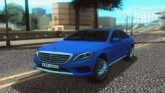 Mercedes-Benz W222 Stock pour GTA San Andreas
