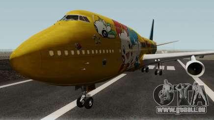 Boeing 747-400 ANA Pokemon Jet für GTA San Andreas