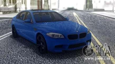 BMW M5 F10 Blue für GTA San Andreas