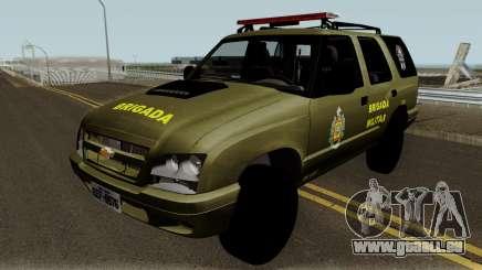 Chevrolet Blazer Brasilian Police für GTA San Andreas