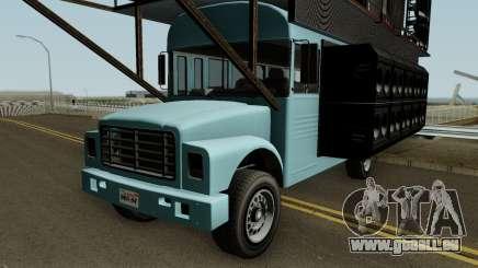Vapid Festival Bus GTA V für GTA San Andreas
