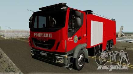 Iveco Trakker Pompieri - Romanian Firetruck pour GTA San Andreas