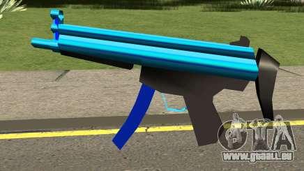 MP5 Blue pour GTA San Andreas