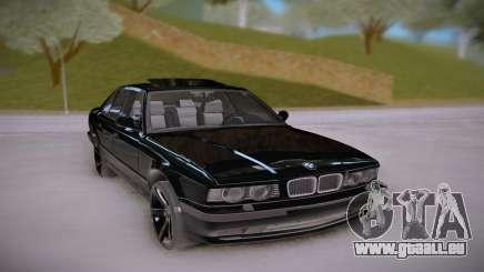 BMW E34 Black pour GTA San Andreas