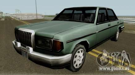 Benefactor Admiral 92 Classic W112 (SA Style) pour GTA San Andreas