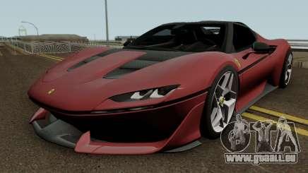 Ferrari J50 2017 HQ pour GTA San Andreas