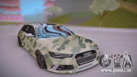 Audi RS6 Camo für GTA San Andreas