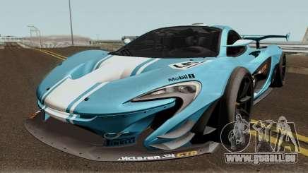 Mclaren P1 GTR 2016 pour GTA San Andreas