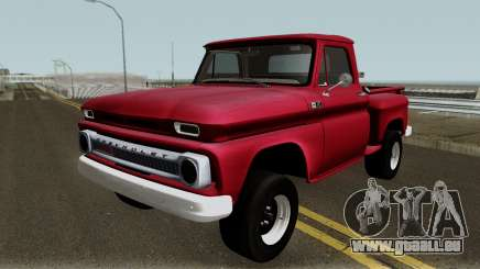 Chevrolet C-10 Stepside Pickup 1965 pour GTA San Andreas