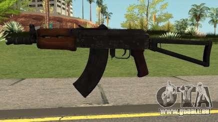 Contagion AK74U pour GTA San Andreas