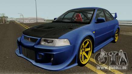 Mitsubishi Evolution VI Edited für GTA San Andreas