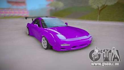 Mazda RX-7 Purple für GTA San Andreas
